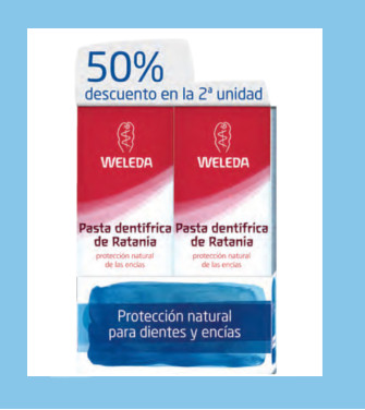 Promoción: Pack Duo Dental de Weleda