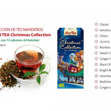 Yogi Tea Christmas Collection: Disfruta estas fiestas de esta selección de tés navideños
