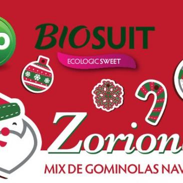 Estas navidades disfruta de Zorionak: Las nuevas golosinas ecológicas de Biosuit