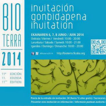 Acércate a Bioterra el próximo fin de semana!!