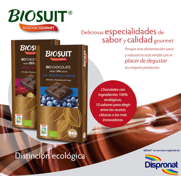 Biosuit chocolates ecológicos