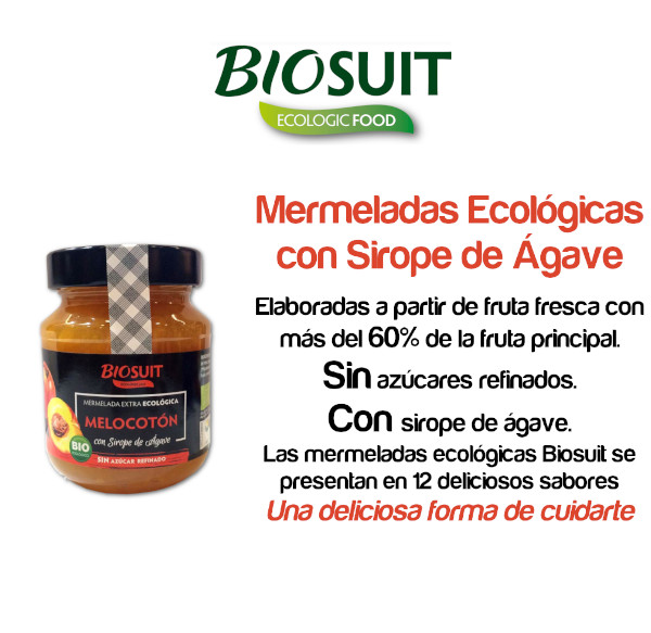 Biosuit mermeladas ecológicas