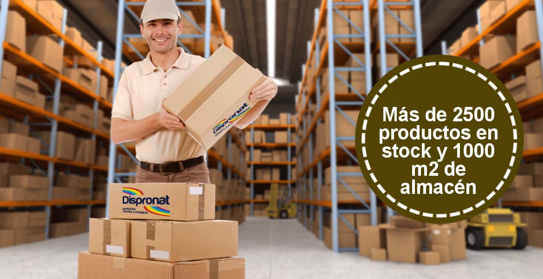 Dispronat, más de 2500 productos en stock y 1000 m2 de almacén