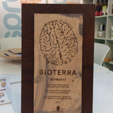 """Bioterra 2017-06-02 Primer dia """"Premio Honorífico Julián Marcilla"""" Más de 10 años de duro trabajo"""