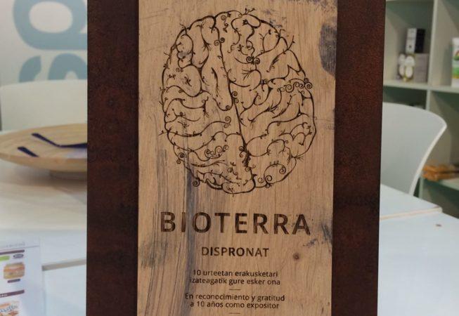 """Bioterra 2017-06-02 Primer dia """"Placa conmemorativa Julián Marcilla"""" Más de 10 años de duro trabajo"""