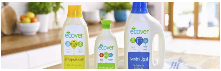 Detergentes ECOVER, nueva fórmula concentrada