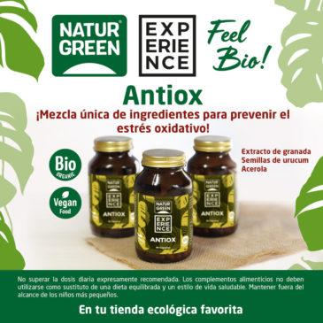 Experience Antiox, previene el estrés oxidativo
