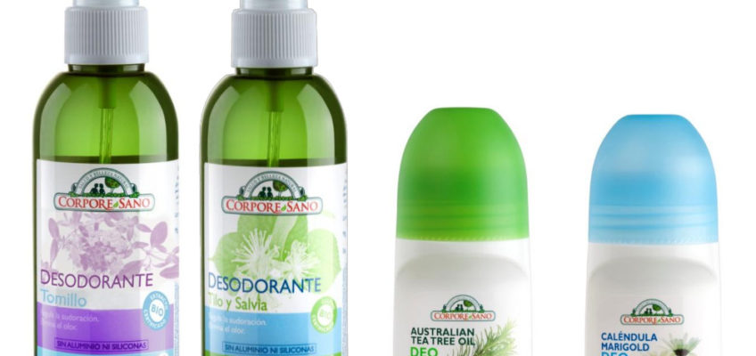 Desodorantes Corpore Sano