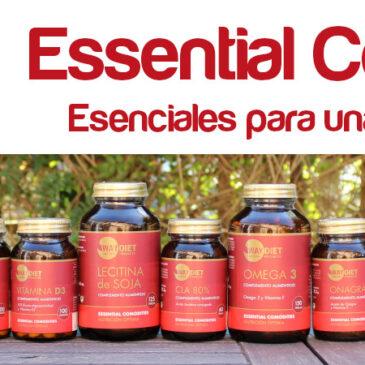Essential Comodities esenciales para una excelente salud