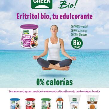 Eritritol Bio, el edulcorante 0% calorías