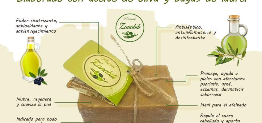Jabón de Alepo Zanabili 100% natural