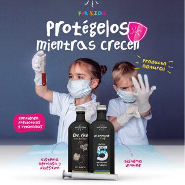 Jarabes infantiles HIFAS DA TERRA: Protégelos mientras crecen