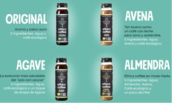 Ethics Coffee gama de sabores