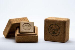 Jabón Alepo Caja de corcho