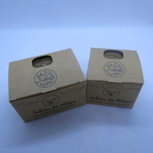 Jabón Alepo cajas cartón