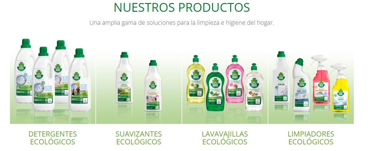 Trébol Verde productos